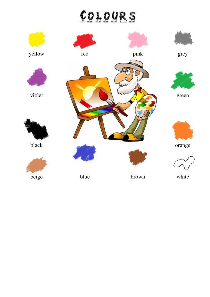Farben im Englischen